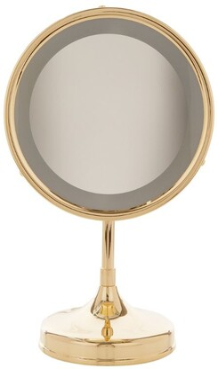 Zodiac Light Up Stand Mirror