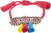 Shourouk Hippie Athna Love bracelet