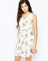 Iska Floral Print Skater Dress