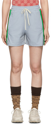 Gucci Silver Reflective Shorts