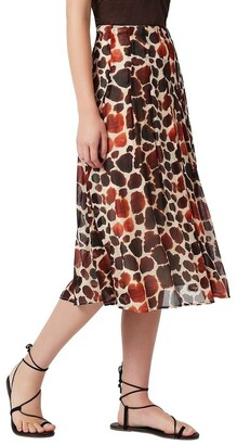 David Lawrence Kiya Midi Skirt