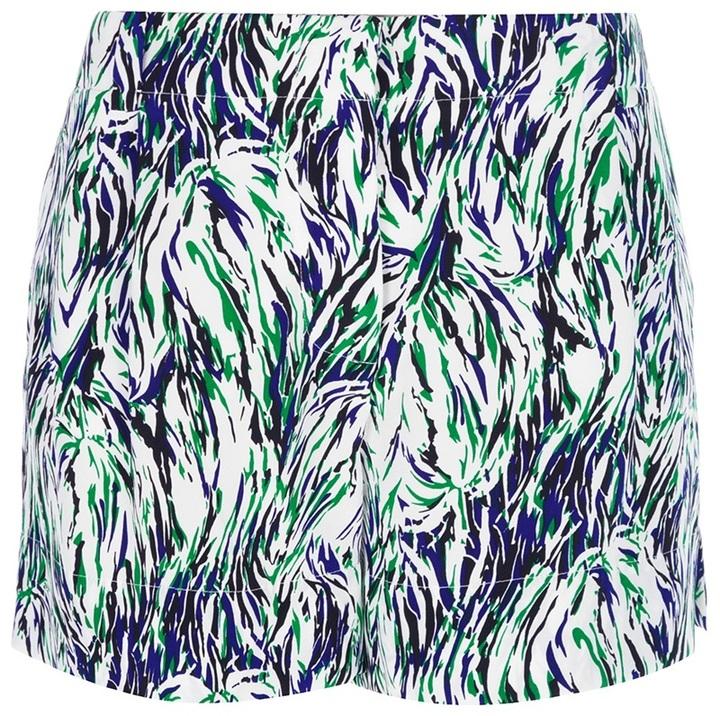 Stella McCartney 'Merit' abstract shorts