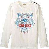 Kenzo Azur Tee Shirt (Toddler) - Light Beige - 3 Years