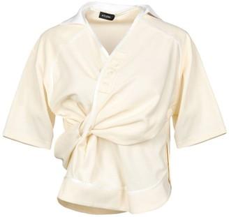 Atlein Ivory Silk-blend Shirt
