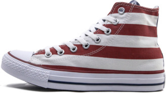 Converse Chuck Taylor All Star 'American Flag' Shoes - Size 6