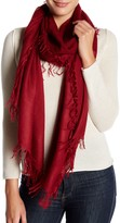 In Cashmere Frayed Cashmere Scarf