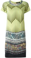 Etro arabesque print shift dress - women - Acetate/Viscose/Wool - 42
