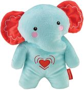 Fisher-Price Calming Vibrations Cuddle Soother Elephant in Turquoise/Red