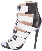 Ruthie Davis Multistrap Cage Sandals