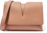 Jil Sander Cutout Leather Shoulder Bag