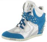 Jump J75 by Women's Adele Studs Wedge Sneaker