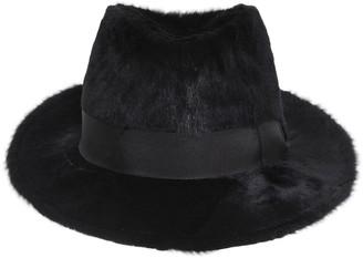 Dolce & Gabbana Rabbit Fur Fedora Hat
