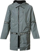 Mostly Heard Rarely Seen hooded parka - men - Polyester - M