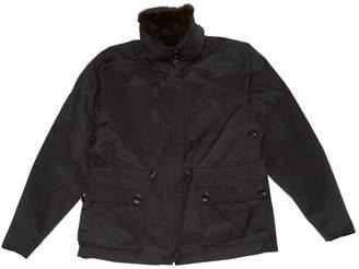 Y-3 Y 3 Black Polyester Coats