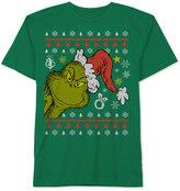 JEM Men's Peek-A-Boo Grinch Graphic-Print T-Shirt