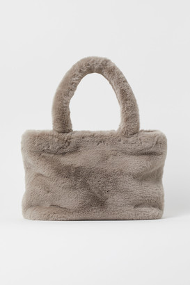 H&M Faux Fur Shopper
