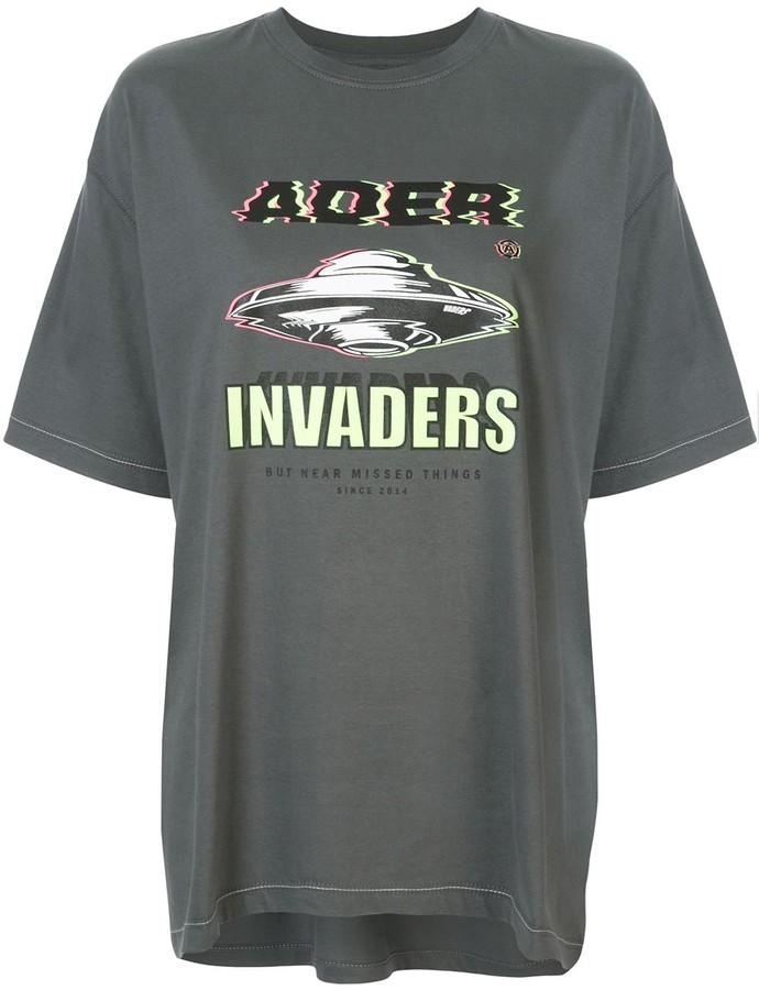 Ader Error Invaders T-shirt