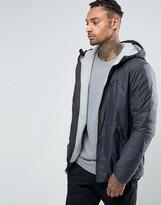 Nike Hooded Jacket In Black 806854-010