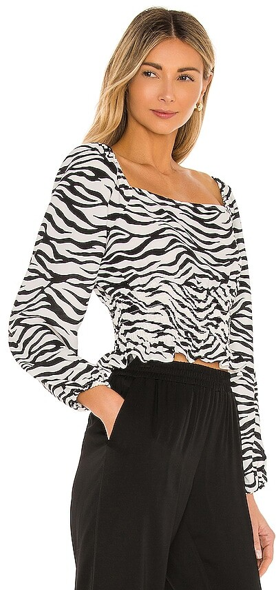 Thumbnail for your product : BCBGeneration Satin Back Crepe Blouse