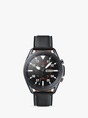 Samsung Galaxy Watch 3, 4G Cellular, 45mm, Stainless Steel with Leather Strap