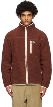 Aimé Leon Dore Red Sherpa Fleece Jacket