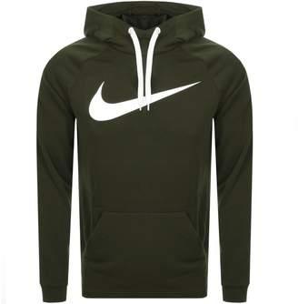 Nike Training Swoosh Logo Hoodie Green