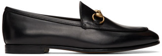 Gucci Black Jordaan Loafers