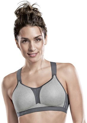 Anita Women's Non-Wired Sports Bra X Back 5537 Heather Grey 36 G