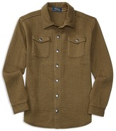 Ralph Lauren Boys' Quilted Duofold Shirt Jacket - Sizes S-XL
