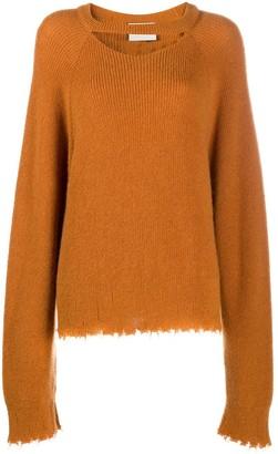 Nanushka Chameli cut-out detail jumper