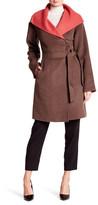 Ellen Tracy Lamb Wool Zip Front Jacket