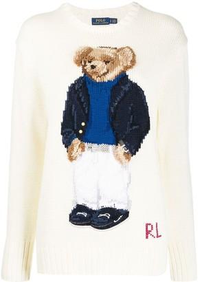 Polo Ralph Lauren Polo Bear logo jumper