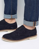 Tommy Hilfiger Metro Suede Brogue Shoes