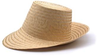 Washein Arena Short Brim Straw Hat Natural
