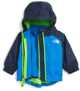 The North Face Infant Boy's 'Abbit' Waterproof Hooded Triclimate 3-In-1 Jacket