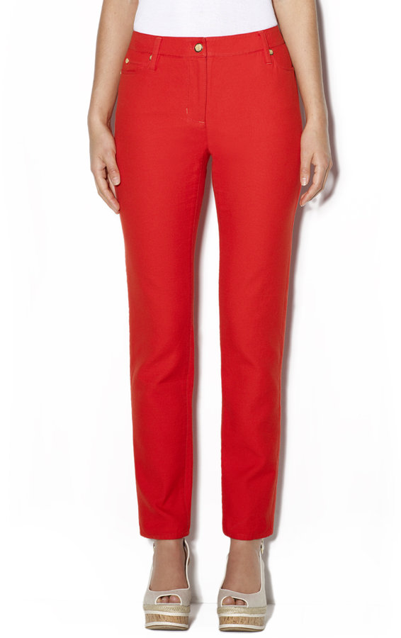 Vince Camuto Crested Signature Jean Red