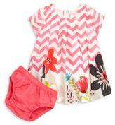 Catimini Baby's & Toddler Girl's Chevron Dress & Bloomers