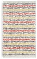 Sky Textured Stripe Bath Rug - 100% Exclusive