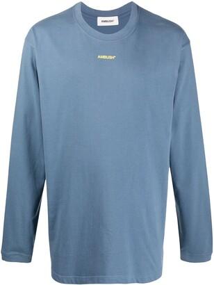 Ambush logo print long-sleeve T-shirt
