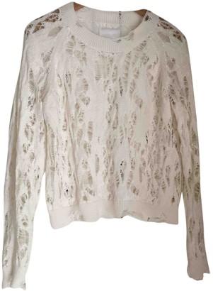 Zadig & Voltaire Ecru Cotton Knitwear for Women