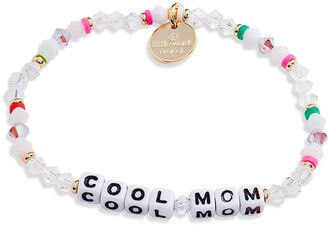 Little Words Project Cool Mom Beaded Stretch Bracelet