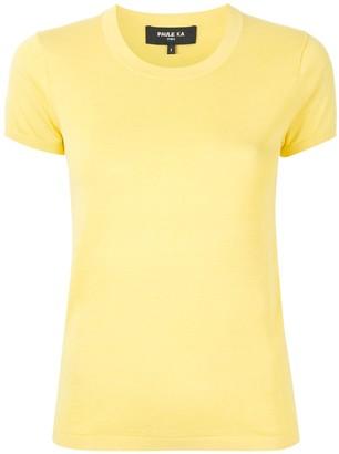 Paule Ka plain knitted T-shirt