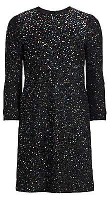St. John Women's Confetti Sequin Knit Dress