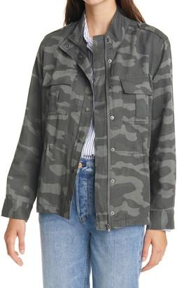 Rails Trey Camo Print Utility Jacket