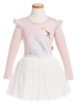 Toddler Girl's Rock Your Kid Swan Lake Circus Dress