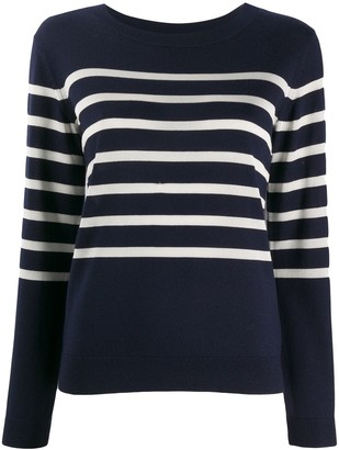 A.P.C. nautical striped jumper
