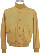 Schiatti & Co. Men's Sand Italian Suede Two-Pocket Jacket