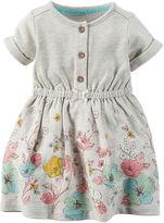 Carter's Short-Sleeve Floral Dress - Baby Girls newborn-24m
