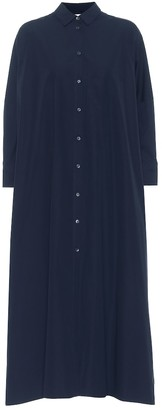 Jil Sander Cotton poplin shirt dress