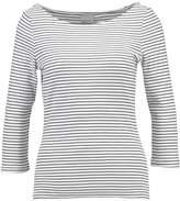 Vero Moda VMGISELE Long sleeved top snow white/black
